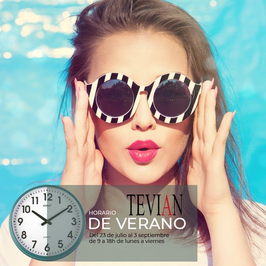 horario de verano tevian