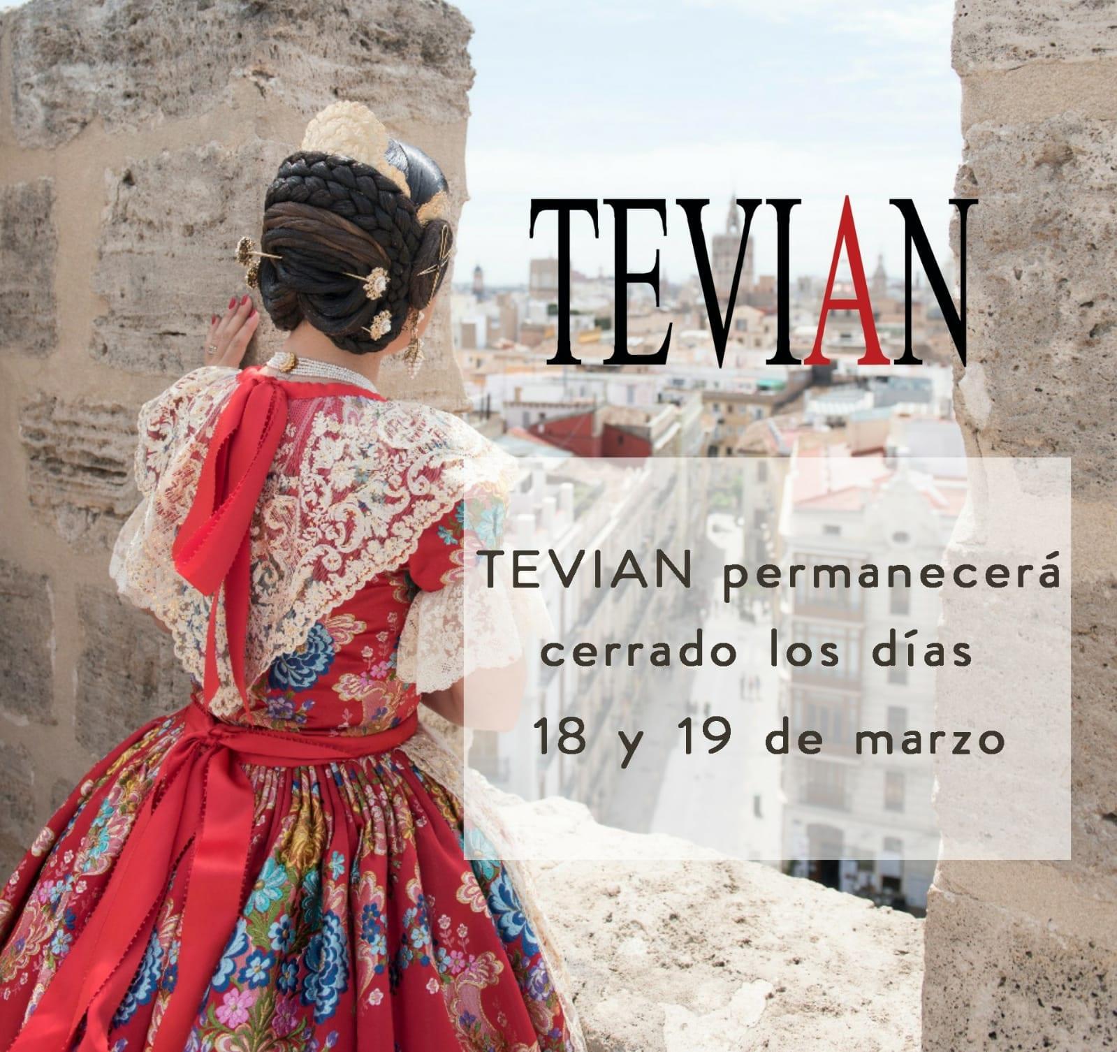 Tevian Cierra en Fallas
