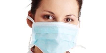 AH1N1 concept - young nurse